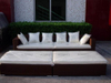 Rattan Furniture / Outdoor Furniture / Rattan Bed (GET1677)
