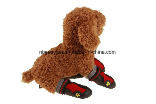 Premium Water Resistant Dog Shoes Anti Slip Rubber Soles ESG10463