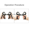 Hand Grips Strengthener Exerciser Adjustable Resistance 22-88lbs ESG10336