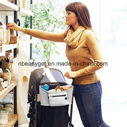 Stroller Organizer Deep Cup Holder with Extra Large Room ESG10784