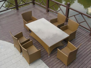 Rattan Furniture/Outdoor Furniture/Rattan Dining (GET-072)