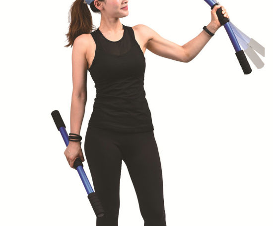 Strength Arm Chest Shoulder Spring Exercise Fitness Training Bar ESG11045