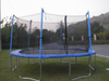 14ft Trampoline with Enclosure-Net Inside (20131208)
