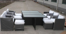 Rattan Furniture/Outdoor Furniture/Rattan Dining (GET-6162)