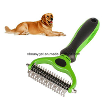 Cats Dog Grooming Tool 2 Sided Undercoat Safe Dematting ESG10690