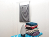 Packable Hanging Travel Shelves & Packing Cube Organizer with Zip ESG10407