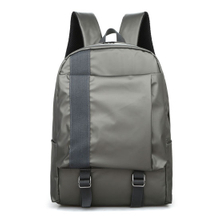Korean Style Canvans Student Backpack with Keyring ESG10782