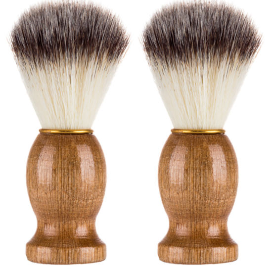 Pure Badger Shaving Brush Metal Wood Handle Tool ESG10380