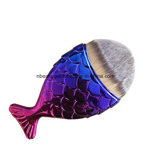 Fish Scale Makeup Brush Fish Bottom Brush Powder ESG10205