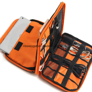 Universal Double Layer Travel Gear Organizer Electronics Accessories Bag ESG10237