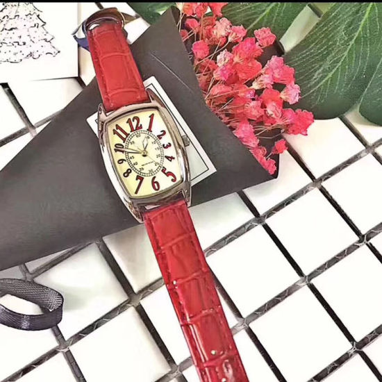 Fashion Ladies Silver Rectangular Case Luxury Elegant Watch ESG10629