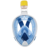 Full Face Anti-Fog Snorkel Mask with a Secure Lock and Optional Gopro Camera Mount - for Adults or Kids ESG12877