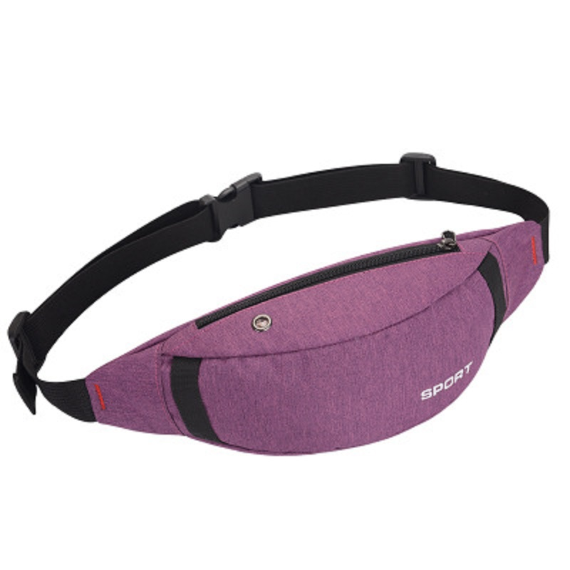 Lightweight and Fashionable Waterproof Waist Bag for Men and Women ESG13372