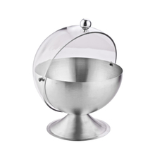Stainless Steel Sugar Bowl with Roll Top ESG11871