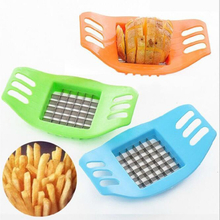 Stainless Steel Potato Cutting Tool French Fry Cutter Cooking Kitchen Gadget ESG11899