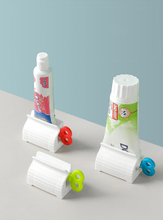 Squeezing Toothpaste Partner Stand Dispenser ESG13842