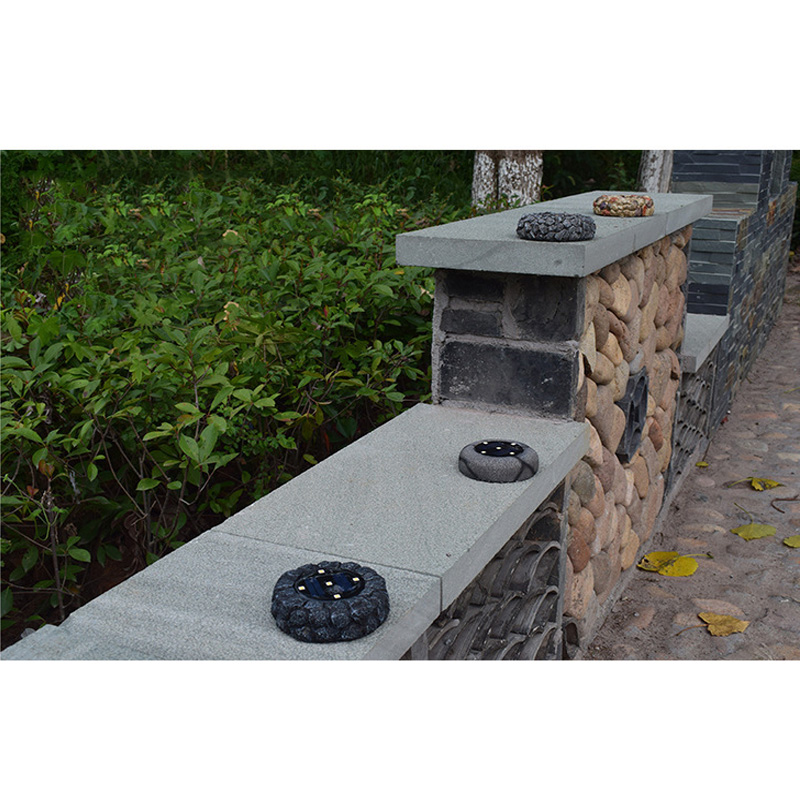 Solar Outdoor Rock Garden Lights LED Design for Gardens Pathways and Patios ESG1190