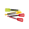 Kitchen Tongs Stainless Steel Cooking Silicone Buffet Serving Tongs Heat Resistant with Locking Handle Joint ESG11915