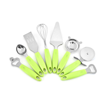 8 Pieces Kitchen Gadget Set Stainless Steel with Silicone Handle ESG11917